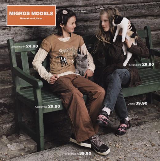 MIGROS Katalog Kindermode Herbst